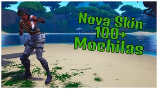 SHOWING A * NEW * SKIN BANDOLEIRA & 100 + BACKPACKS | FORTNITE