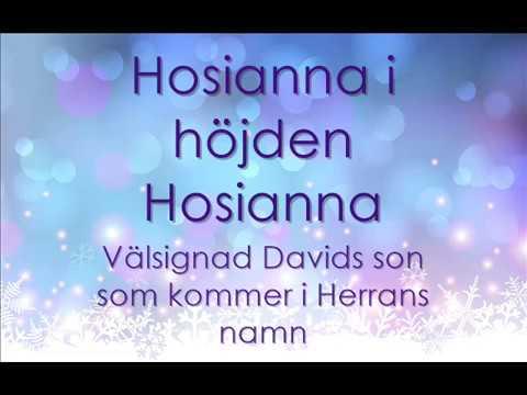 Dörby julkonsert 2016 - Hosianna Davids son