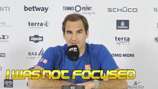 Roger Federer R2 FULL PRESS CONFERENCE ATP Halle 2021