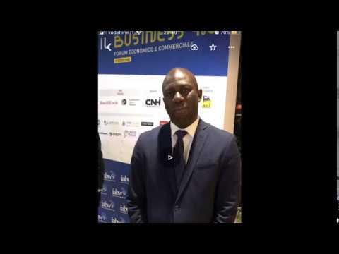 Incroci@👌:Italia Africa Business week -organized by IABW- Adrien Dioma- Executive President