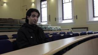 NUIG student Mohammed Moble from Saudi Arabia