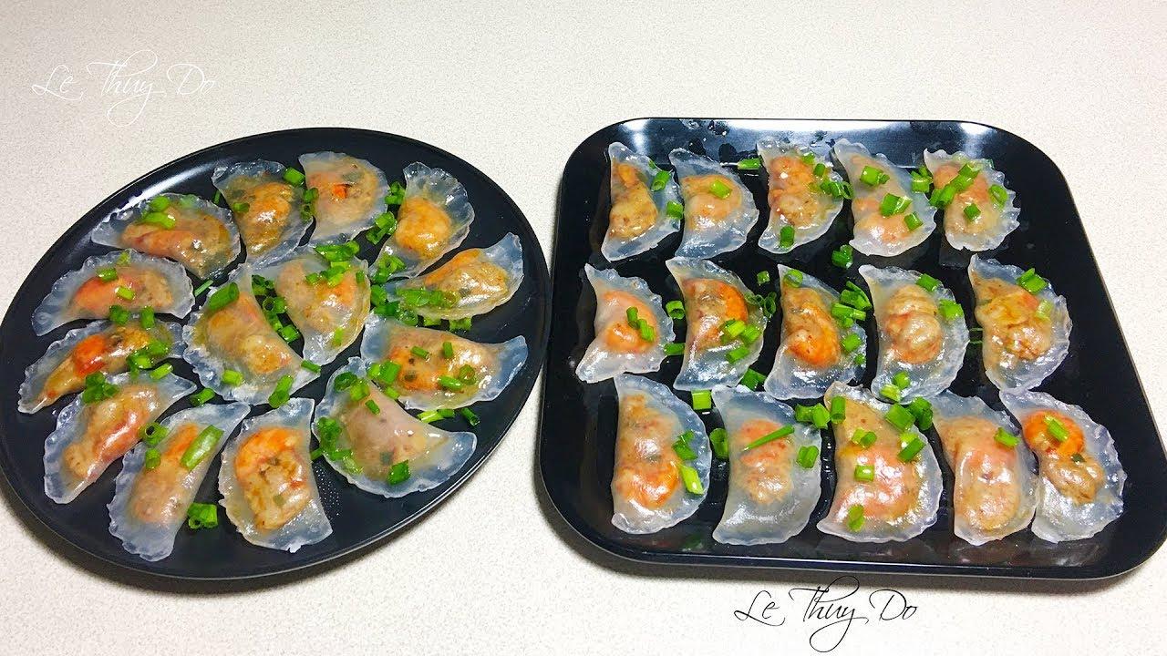 Bánh Bột Lọc Trần Trong Veo Không Bể – Crystal Dumplings