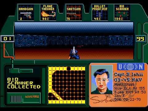 Zero Tolerance Sega Mega Drive Genesis Walkthrough 01