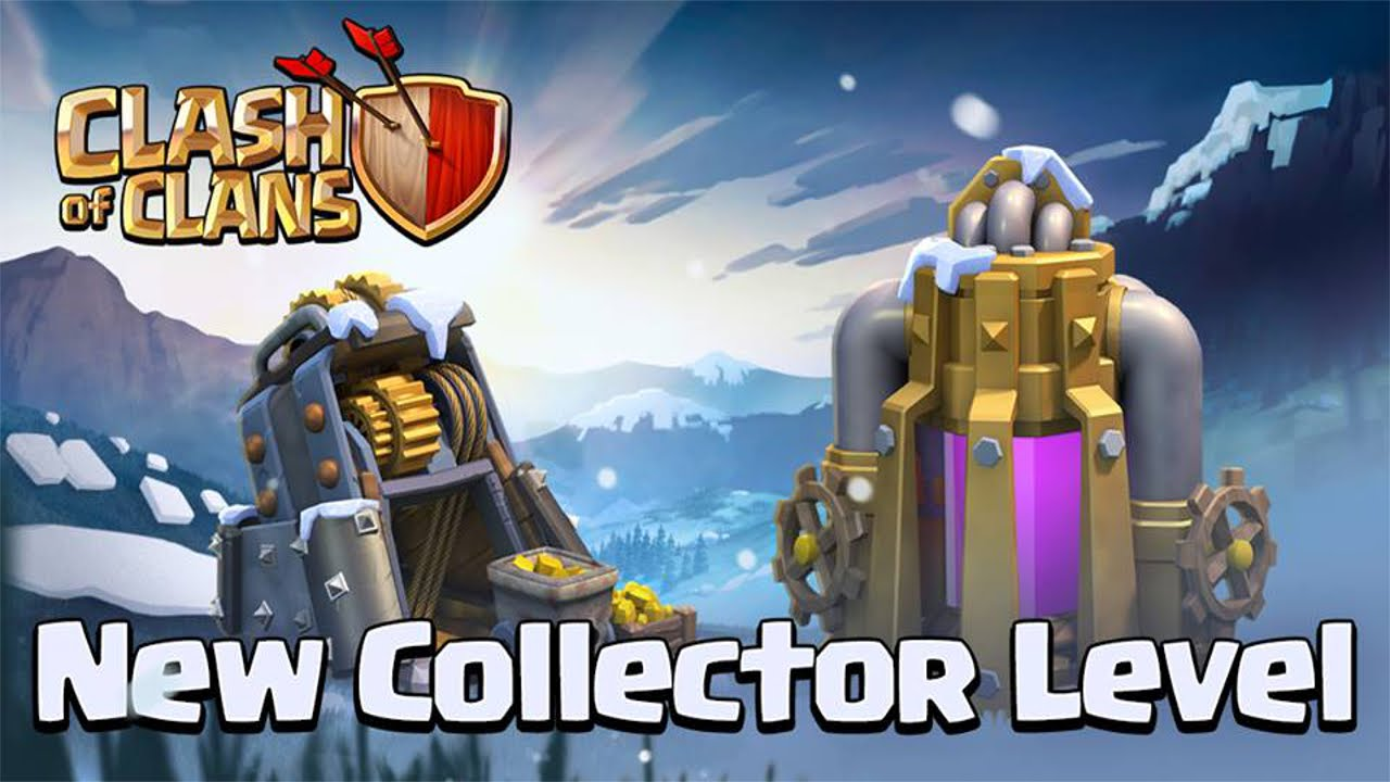Gold and Elixir Storage Clash of Clans Town Hall 11