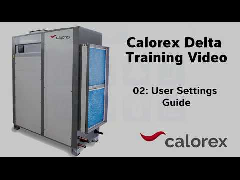 Training Video - 02 User Setting Guide