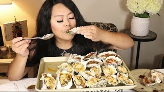 New Orleans inspired and Spicy Oysters Mukbang