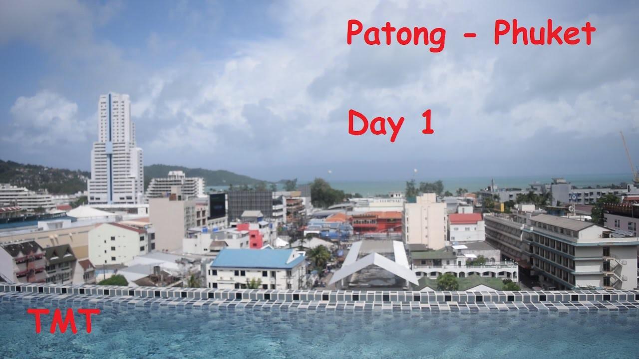 Phuket Patong Beach And The Gig Hotel Thailand Day 1
