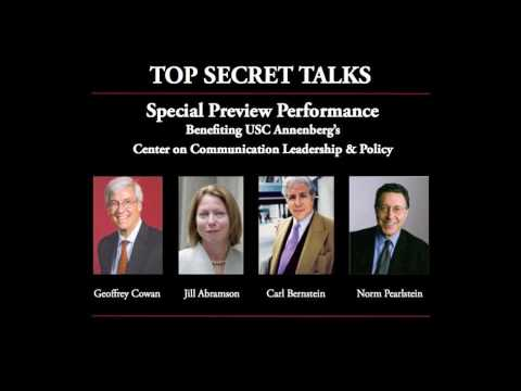 Top Secret Talk - Special Preview Performance, Benefiting USC's Center on Communication Leadership