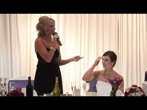 Maid Of Honor Speech At Sisters Wedding
