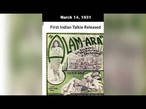 FILMY INFINITY's salute to the first Indian Talkie Film (ALAM ARA)