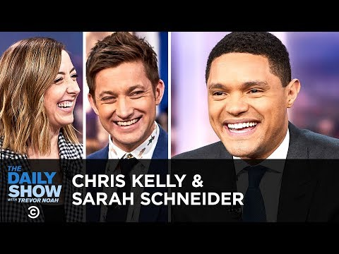 Sarah Schneider & Chris Kelly - The Two Writers Behind The Other Two | The Daily Show