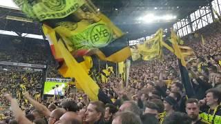 Borussia Dortmund - Rb Leipzig 4:1 Verabschiedung der Mannschaft