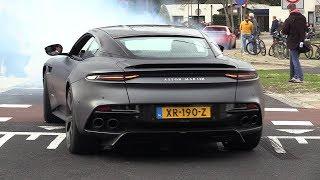 2019 Aston Martin DBS Superleggera - Acceleration SOUNDS!