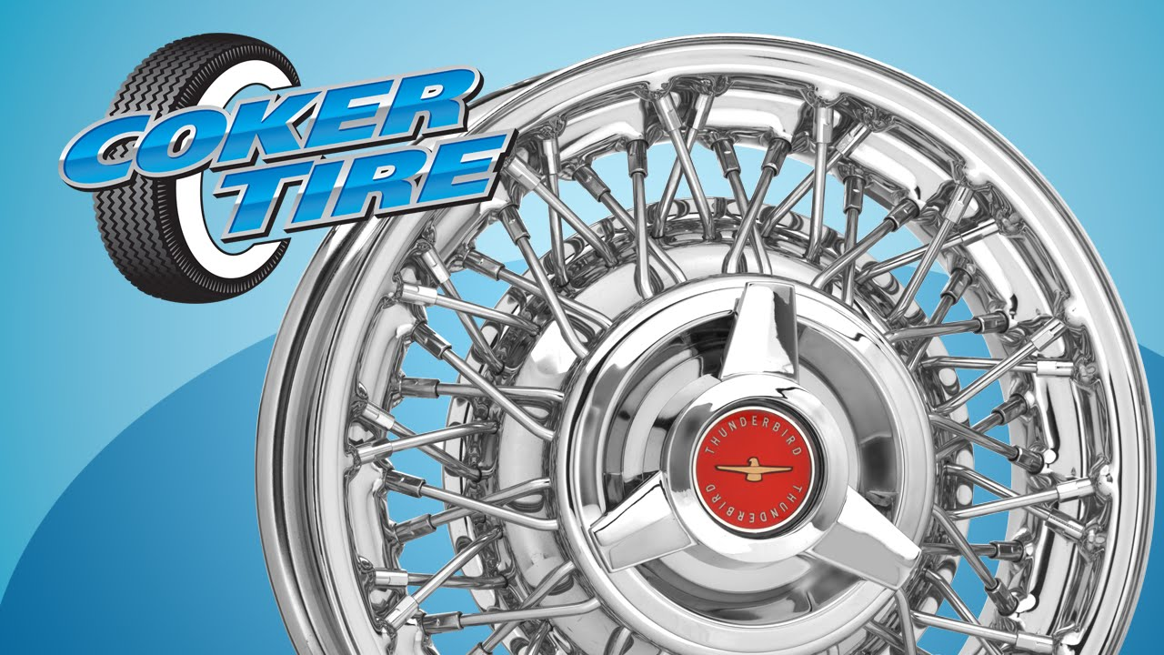 Thunderbird Wire Wheels - YouTube