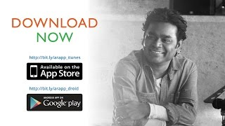 A R Rahman - Official App Launch [Special Message]