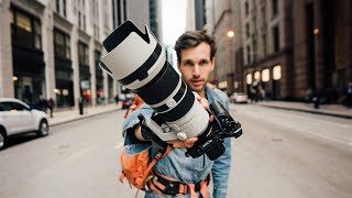 Is Street Photography with a 70-200mm Lens IMPOSSIBLE?!