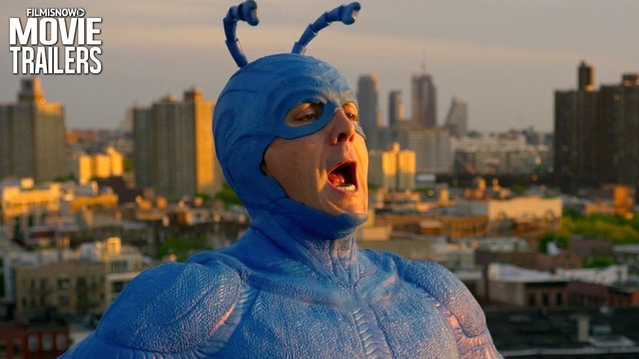 THE TICK | New Trailer for Amazon Comedy Superhero Series ...