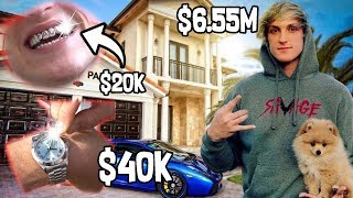 MOST EXPENSIVE THINGS Logan Paul BOUGHT in 2017