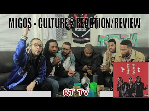 MIGOS CULTURE 2 - FULL ALBUM (REACTION/REVIEW)