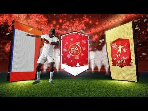 🎄🎁 PACZKI NA ŚWIĘTA !!! | 4x BANERY Z RZĘDU !!! | FIFA 18 PACK OPENING [PL]