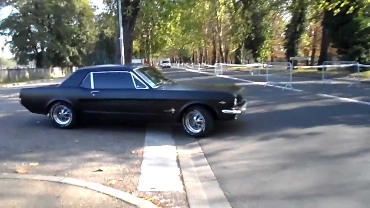 Ford mustang fastback 1964 66 sound