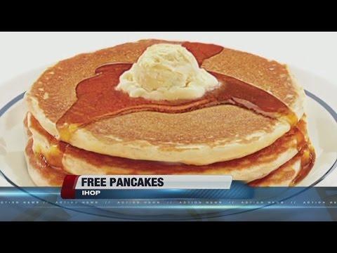 IHOP celebrating National Pancake Day with free pancakes
