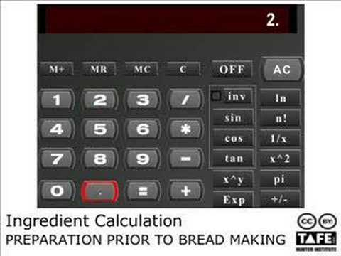 Calculate ingredients