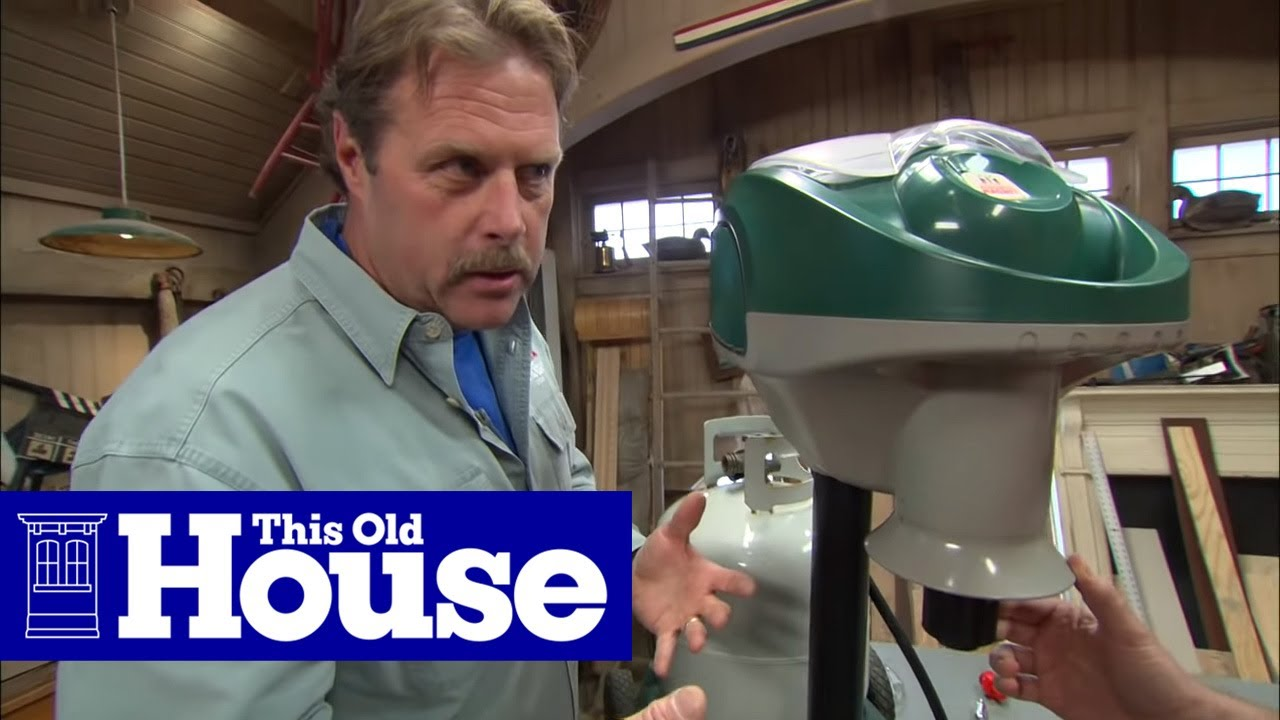 How to Use a Propane Mosquito Trap | This Old House