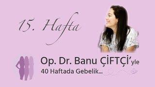 Op. Dr. Banu Çiftçi'yle 40 Haftada Gebelik - 15.Hafta