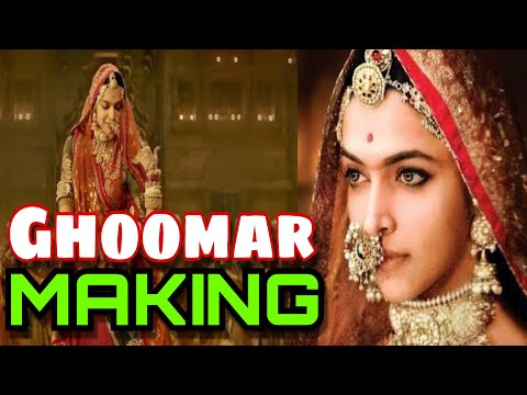 Padmavati Making of Ghoomar | Deepika...