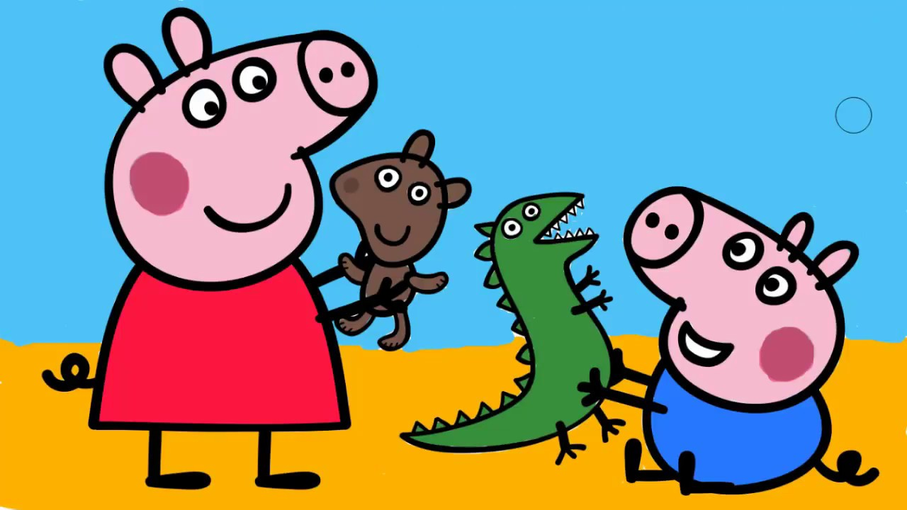 Картинки джордж свинка