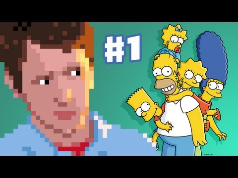 The Simpsons Arcade Game - Stage 1 - Downtown Springfield