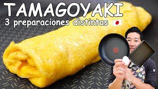 Tamagoyaki, Omelette japonés 3 preparaciones distintasCocina Japonesa Con Yuta