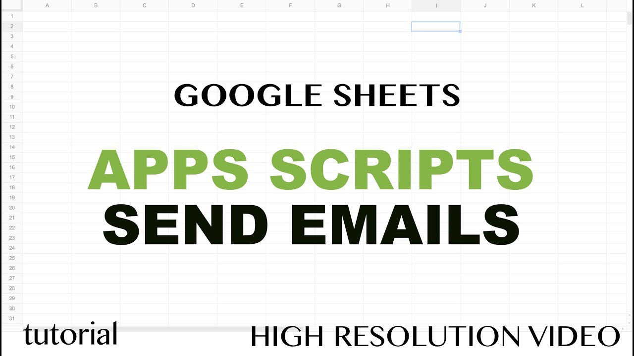 Google sheets send emails using apps script javascript mailapp google sheets send emails using apps script javascript mailapp tutorial part 12 baditri Image collections