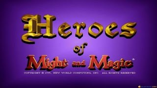 Heroes of Might and Magic gameplay (PC Game, 1995)