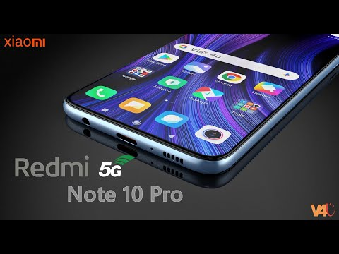 Redmi Note 10 Pro Official Video, Price, 5G, Trailer, First Look, Launch Date, Specs, Camera