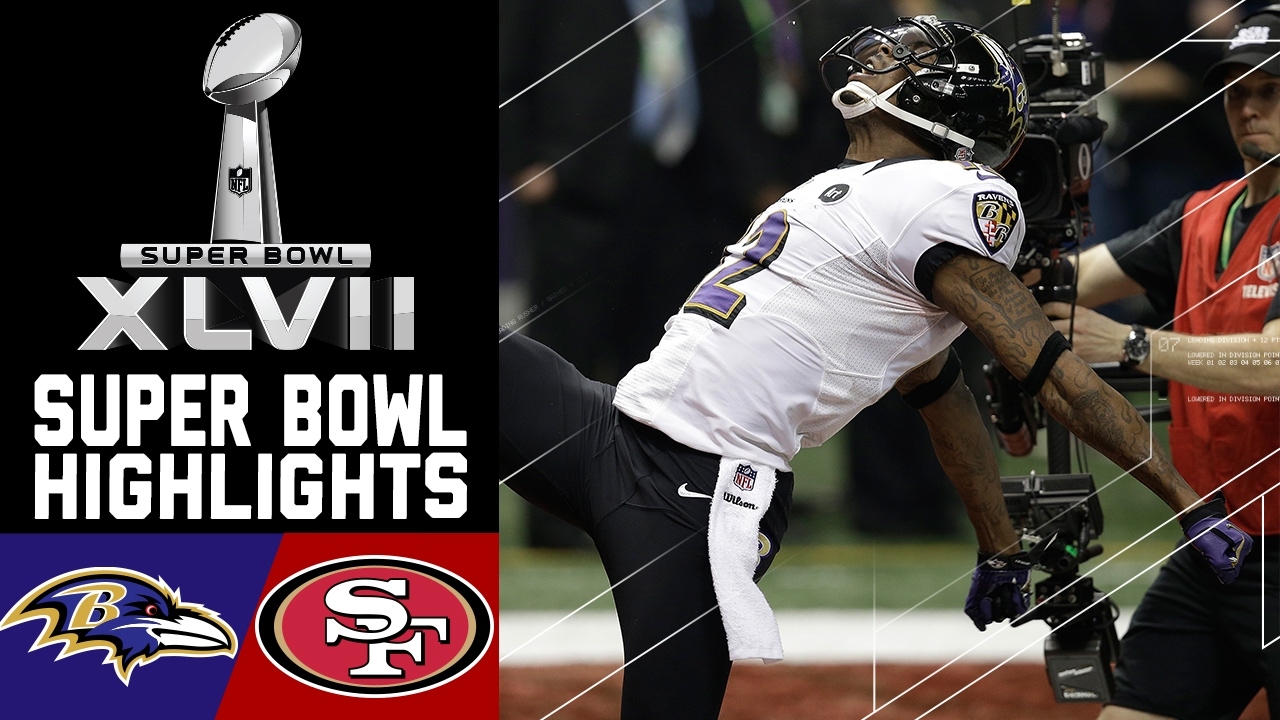 huge discount 0672b 3eb6d Super Bowl XLVII Recap: Ravens vs. 49ers | NFL