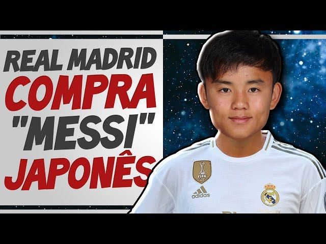 Real Madrid ficou DESESPERADO pra comprar MESSI JAPONÊS Takefusa Kubo - Entenda TODA A HISTÓRIA