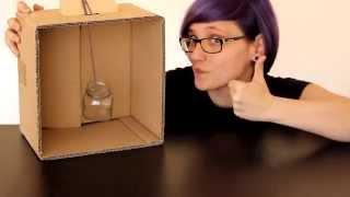 Una caja para pintar botes o botellas de manera fácil y rápida