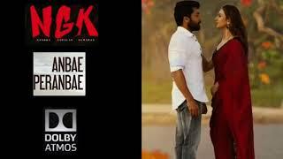 NGK Anbae Peranbae|Song in Dolby Atmos|Suriya|Rakul Preet Singh