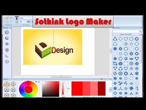 Sothink Logo Maker Professional !! How To Make Logo For Free