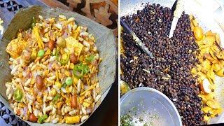 Delicious Tasty Masala Muri recipe Hard Working Young Boy selling Yummy Food muri makha @ Tk 10