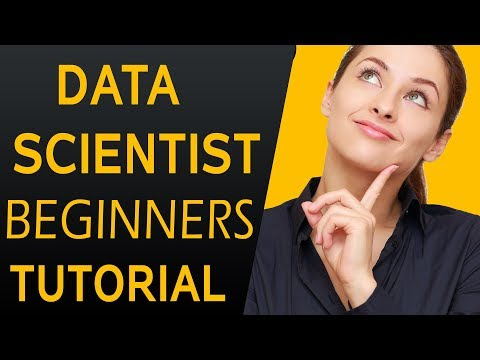 Data Scientist Training Tutorial - Introduction to Data science #DAY 1