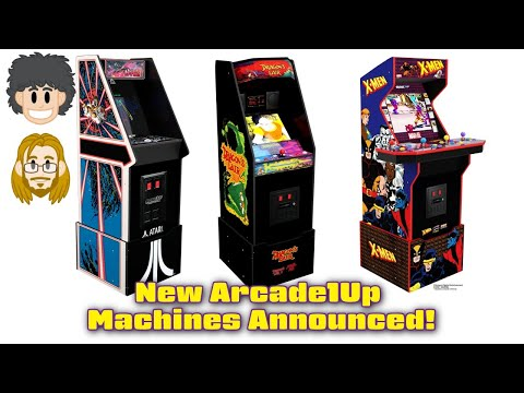 Dragon's Lair, X-Men, Killer Instinct Arcade1Up Cabinets Announced from Pat the NES Punk