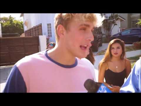 Jake Paul TV Interview. Channel 5