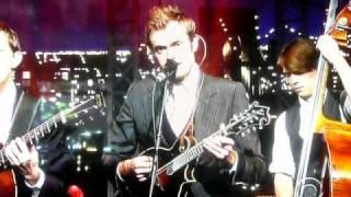 "Punch Brothers & Steve Martin on Letterman Nov 5 2010 ""Rye Whiskey"""