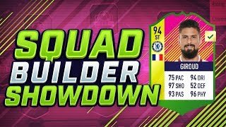 WORLD CUP WINNER OLIVIER GIROUD SQUAD BUILDER SHOWDOWN vs AJ3!!!
