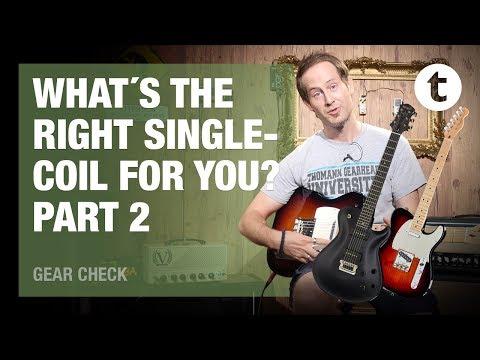 7 Types of Singlecoil Pickups | Sound Comparison | Part 2: Tele, P90s, active Singlecoils