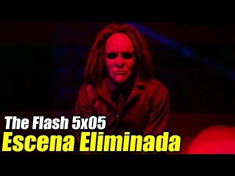 The Flash ESCENA ELIMINADA 5x05 (Sub Español) - ¡Rag Doll Volverá!