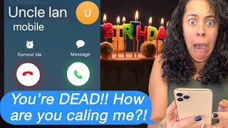 My DEAD UNCLE CALLED ME On MY BIRTHDAY! *FaceTime Proof!*(Scary Text Message Story)